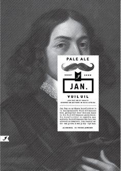 Beer Branding - Jan Craft Beer by Matilda van der Merwe, via Behance