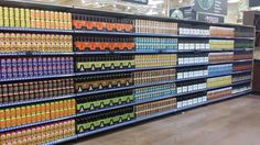 This unblemished beer aisle: