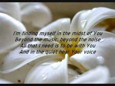 """Word of God Speak"" by MercyMe (lyrics) (excellent quality)"