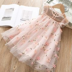 New Girls Dress New Summer Girls Clothes Flower Princess Dress Children Summer Clothing Baby Girls Dress Casual Wear Vestidos Cute Girl Dresses, Toddler Girl Dresses, Little Girl Dresses, Girl Outfits, Baby Girl Dresses Diy, Baby Dress Clothes, Kid Dresses, Sewing Clothes, Fashion Kids
