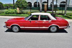 1975 Ford Granada Ghia 4-Door Sedan