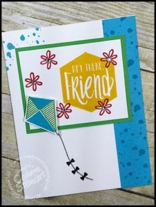 Stampin' Gals Gone Wild Weekend Challenge for July 22, 2016 - check it out at www.SimplySimpleStamping.com