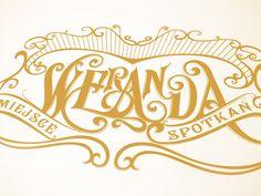 Weranda - a social house hand lettered branding