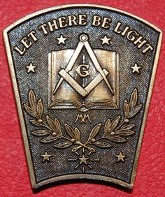 Masonic Mark Token of the Provincial Grand Royal Arch Chapter of Aberdeen, Scotland.