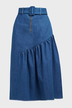 Blouse And Skirt, Dress Skirt, Denim Fashion, Fashion Outfits, Womens Fashion, Ankara Clothing, Overall Skirt, Denim Outfit, Skirt Outfits