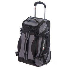 Wenger SwissGear 20-inch Rolling Carry-On Duffel Bag - Grey