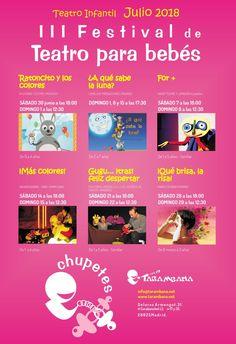 III Festival Chupetes en la sala Tarambana de Madrid, www.magiaparabebes.com Madrid, Pacifiers, Colors, Bebe