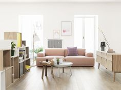 Muuto / Connect Sofa / Living Room