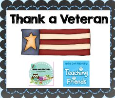 Thank A Veteran, Memorial Day, Veteran's Day, Thank you cards, military appreciation, collaborative Pinterest board http://pinterest.com/wiseowlfactory/thank-a-veteran/