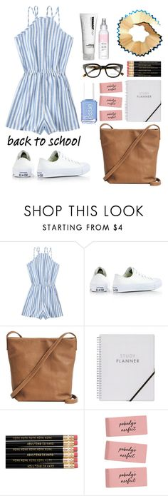 """""""Untitled #952"""" by helenaki65 ❤ liked on Polyvore featuring Converse and BAGGU"""