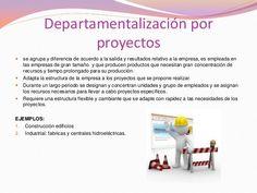 * departamentalizacion por proyecto.