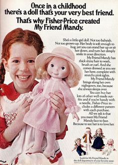 My Friend Mandy...loved her!  My childhood version of American Girl. Still have her!