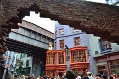 Six Reasons We LOVE Diagon Alley at Universal Studios Orlando - Click this pin for this great information from the TouringPlans blog. Learn how you can get a free TouringPlans subscription from http://www.buildabettermousetrip.com/free-touring-plans