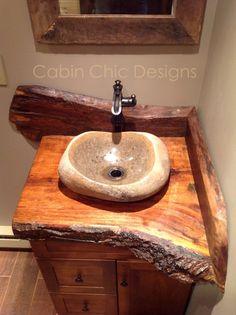 Cabin she designs vanity