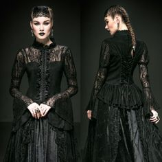 PUNK-RAVE-Duchess-Of-Dusk-Top-Gothic-Jacket-EDEL-ROMANTIC-VICTORIAN-SPITZENBLUSE