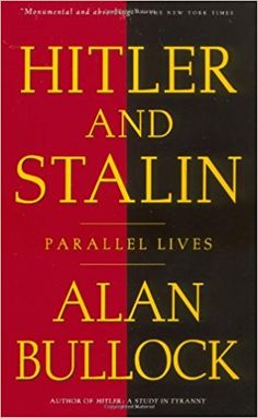 "Massive book that goes deeply into all things Hitler and Stalin. You get the ""how and why"" of Nazi Germany arising around Hitler while Stalin appropriated Leninism to create the horrific cult of Stalin. Lessons for today of where strongman nationalism can lead to."