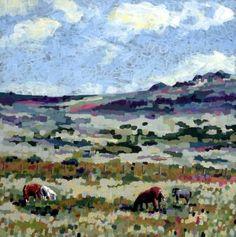 "Saatchi Art Artist Andrew Francis; Painting, ""Ceffylau Cors Tewgyll"" #art"