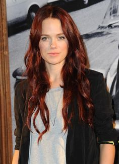 Dare to Go Red: Photos of Gorgeous Red Hair Color: Katia Winter