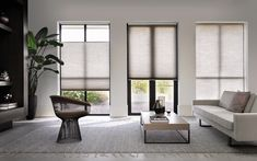 How To Determine The Right Window Coverings for Your House Interior Windows, Room Interior Design, Blinds For Windows, Windows And Doors, Window Awnings, House Blinds, Window Coverings, Window Treatments, Honeycomb Blinds