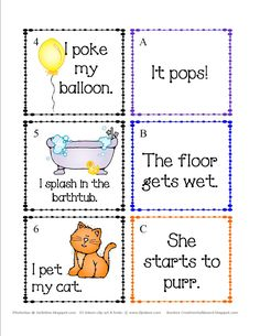 cause and effect 1st grade - Google Search