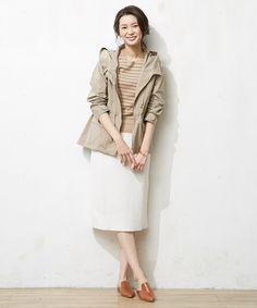商品画像 - NEWGU フード付きブルゾン / J.PRESS LADIES(ジェイ・プレス レディス)|オンワードグループ公式ファッション通販サイト|ONWARD