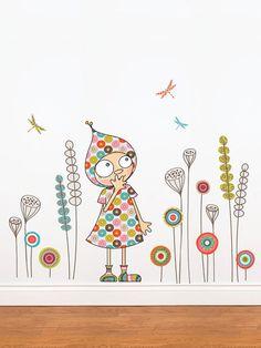 ADzif Violette's Garden Wall Art