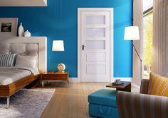Lakované dveře GORI    Jednoduché a elegantní dveře, které se hodí do každého prostoru. Barvu dveří si zvolíte podle vzhledu vašeho interiéru. W Hotel, Tall Cabinet Storage, Entryway, Bed, Furniture, Home Decor, Entrance, Decoration Home, Stream Bed
