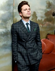 sebstanfreak I'm with you till the end of the line — sebastiansource: Sebastian Stan attends Esquire's...