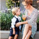 Esra Erol and her son Idris Ali - FamousFix
