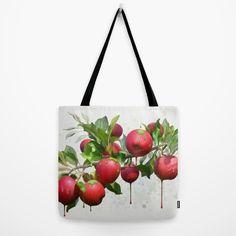 Melting Apples Tote Bag