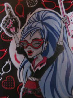 Ghoulia, Monster High Team Fan