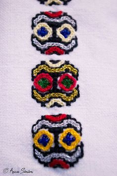 New embroidery, recreation of original blouses in museums around the world. Museums, Romania, Textiles, Blouses, Costume, Embroidery, Detail, Style, Needlework