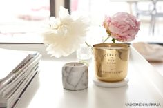 marble and peonies *