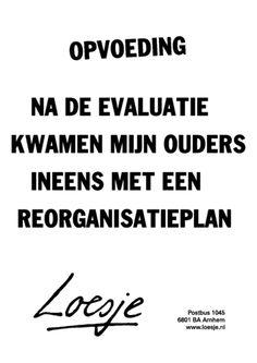 Klik op de poster om hem als PDF te openen. Top Quotes, Words Quotes, Best Quotes, Funny Quotes, Sayings, Language Quotes, Dutch Quotes, One Liner, Simple Words