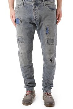 Jeans Uomo Absolut Joy (VI-P2556) colore Blu Scuro