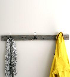 Reclaimed Barnwood Coat Rack   Home Decor   EverettCo   Scoutmob Shoppe   Product Detail
