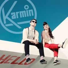 Karmin's debut album, Hello, will be released on May 8.