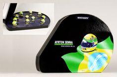 Ayrton Senna Helmet Collection Box