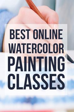 7 Best Online Watercolor Classes: Watercolor Courses water for Beginners Watercolor Painting Techniques, Watercolor Tips, Watercolor Classes, Watercolour Tutorials, Watercolor Artists, Painting Lessons, Watercolour Painting, Art Lessons, Watercolors