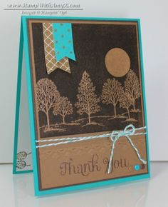 Lovely as a Tree - Stamp With Amy K