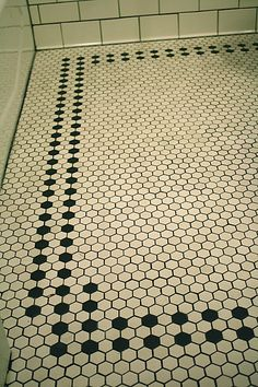 another pattern for the bathroom floor