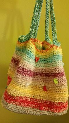 Crochet Bag multicolor