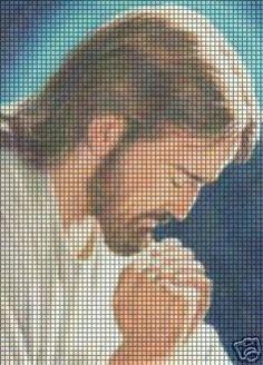 Jesus Prays Crochet Pattern