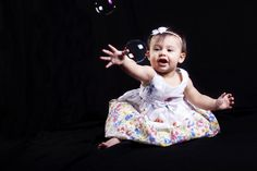 Bubbles are great for photo sessions! by BriannaKate Photography