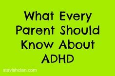 ADHD-What does it mean for speech and language? From Simply Stavish. Pinned by SOS Inc. Resources @sostherapy.