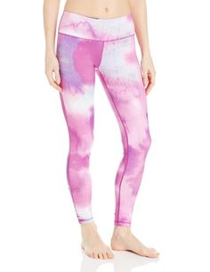 Glyder Women's Chakra Legging, Purple Rain Print--perfect for Funky Pants Friday (which the last studio I went to swore was a thing)