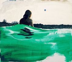 "Saatchi Online Artist Grażyna Smalej; Painting, "" Ball"" #art"