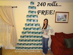 Couponing for beginners: Not so extreme - Free toilet paper  #Couponing stockpile