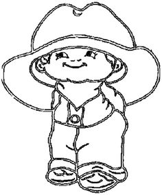 cowboy boot and hats coloring pages   Cowboy Hat, : Cowboy Boots and Hat Coloring Pages   Free ...