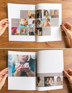 journal ideas - HP Pavilion Gaming Laptop inch Full HD AMD Ryzen 5 RAM SSD - Crochet Brazil 5 Tips for Creating a Collective Photography Magazine Album Design, Album Digital, Wedding Album Layout, Buch Design, Layout Design, Design Ideas, Design Design, Graphic Design, Family Album